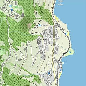 Karte Valcanover